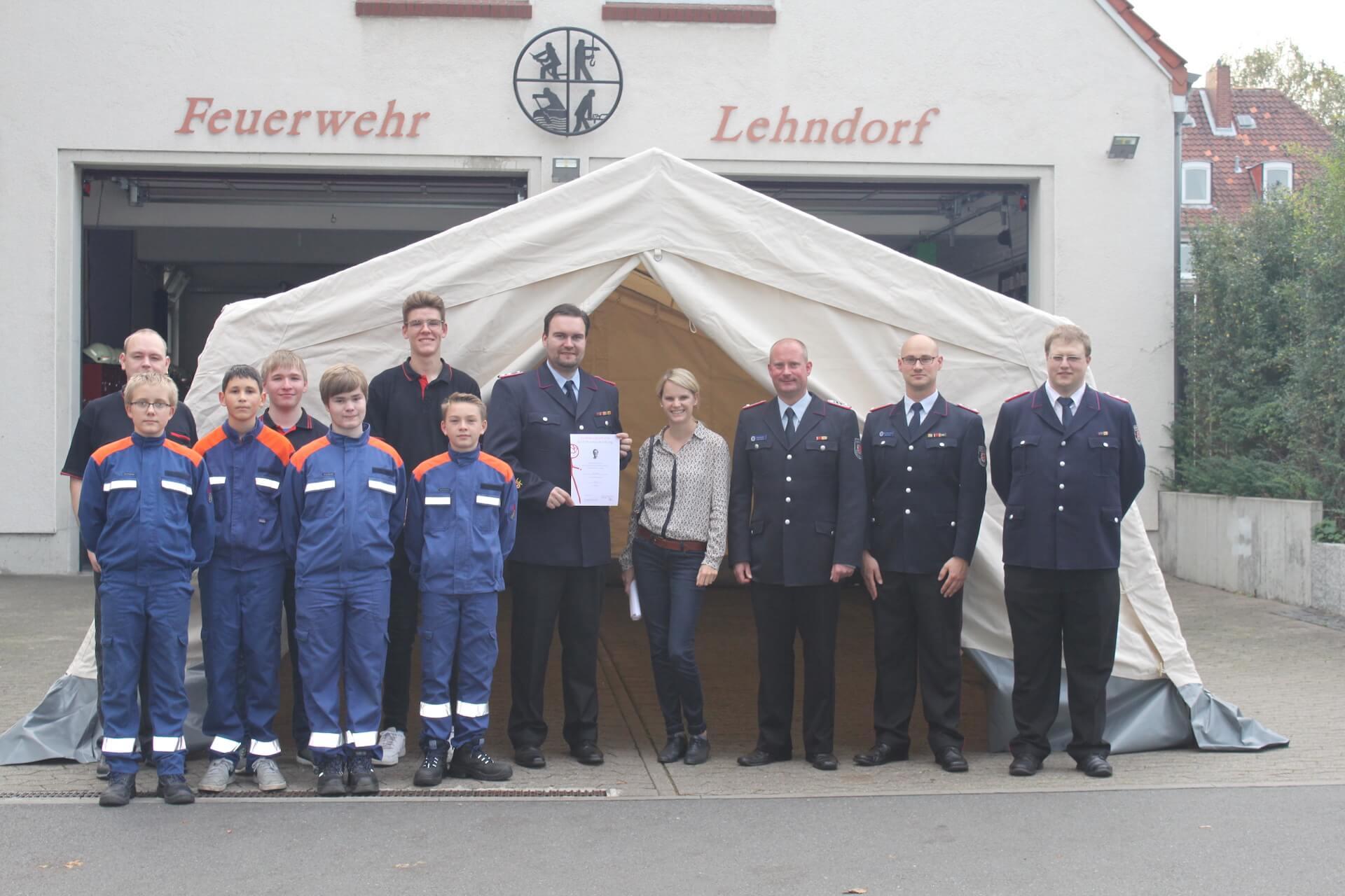 Jugendfeuerwehr Lehndorf 2019
