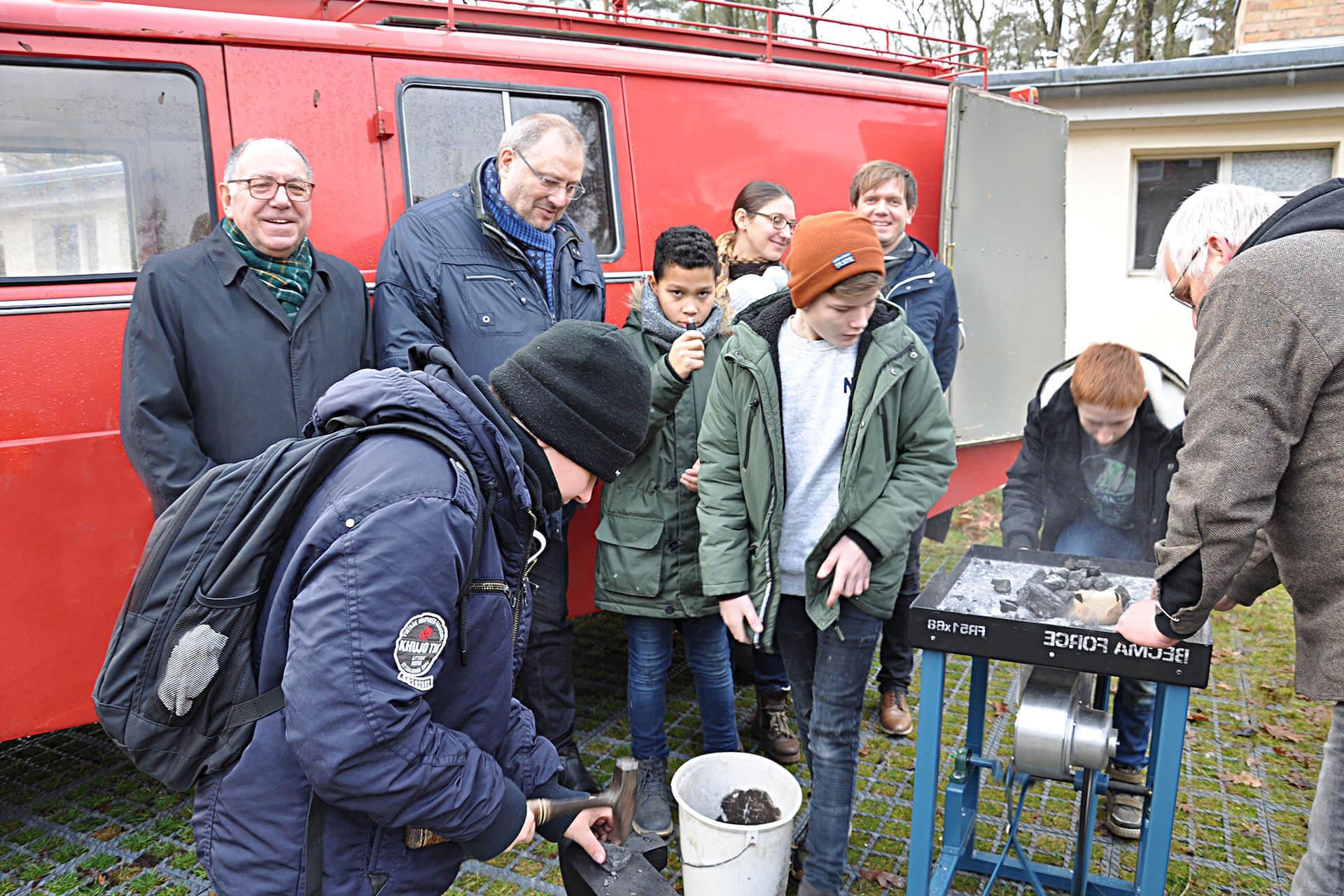 Mobile Schmiede AWO Braunschweig